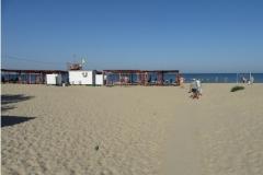 """Пляж в районе гостевого дома """"Водолей"""""""