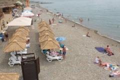 Пляж п. Вардане