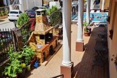 Мангальная зона гостевой дом Натела - автобусный тур в Кабардинку из Рязани